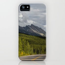 Icefields Parkway, Early September iPhone Case
