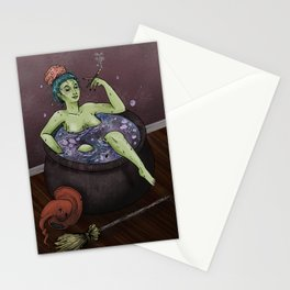 Witch Bath Stationery Cards