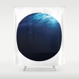 Under Water 8 Shower Curtain