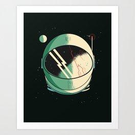 Death of an Astronaut Art Print