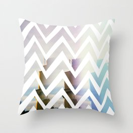 in front Throw Pillow