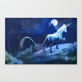 The Last Unicorn Canvas Print