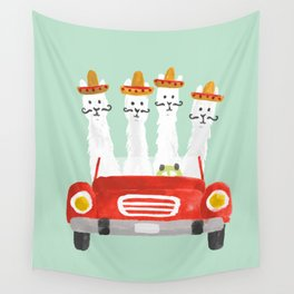 The four amigos Wall Tapestry