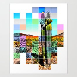 An Abstract Desert I Art Print