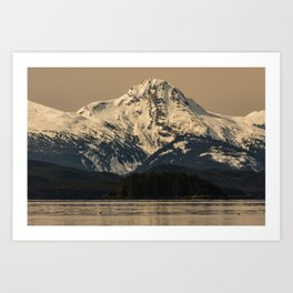 Chilkat Mtn Art Print
