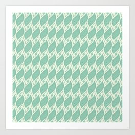 Background abstract green pattern 5, vector, texture design. Art Print