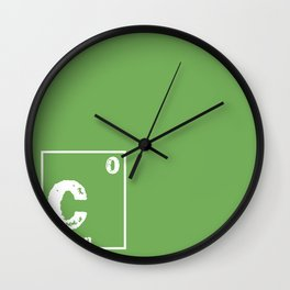 Carbon neutral Wall Clock