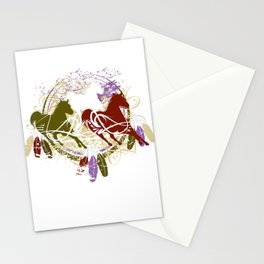 Digital Indian Tee 2 Stationery Cards