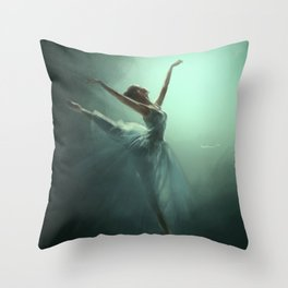 Dancing in the Light Throw Pillow