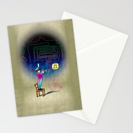 Make your own kind of music! Stationery Cards