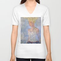 focus V-neck T-shirts featuring Focus by Hinterland Girl
