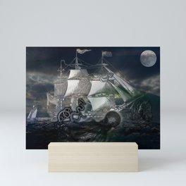 Dark Water Mini Art Print