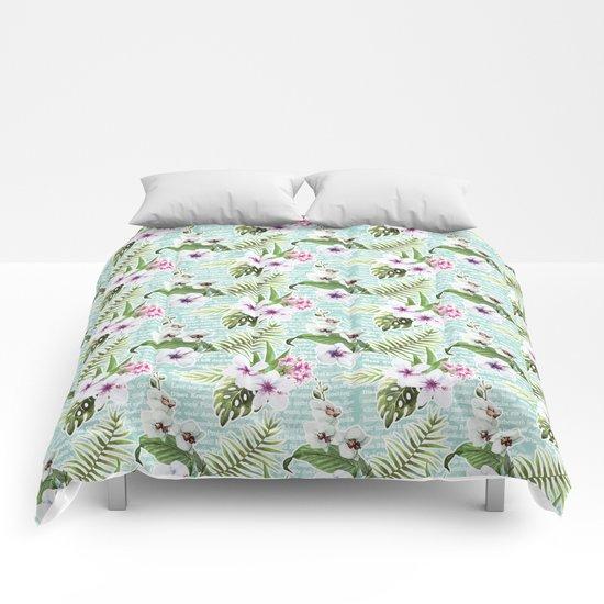 Tropical Summer #12 Comforters