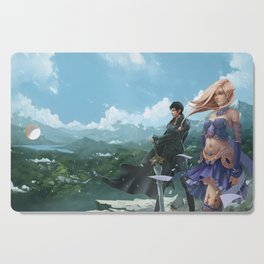 The Luckless Second Age of Retha book Series AM Sohma Cutting Board