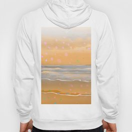 Peach Beach Memories Hoody
