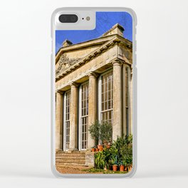 Temple Greenhouse Clear iPhone Case