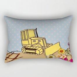 Natural Destruction Rectangular Pillow