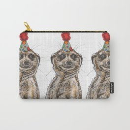 Meerkat Party Carry-All Pouch