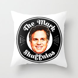 Mark Shuffalos Throw Pillow