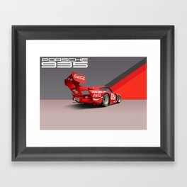 1977 935 Twin Turbo Race Car Framed Art Print