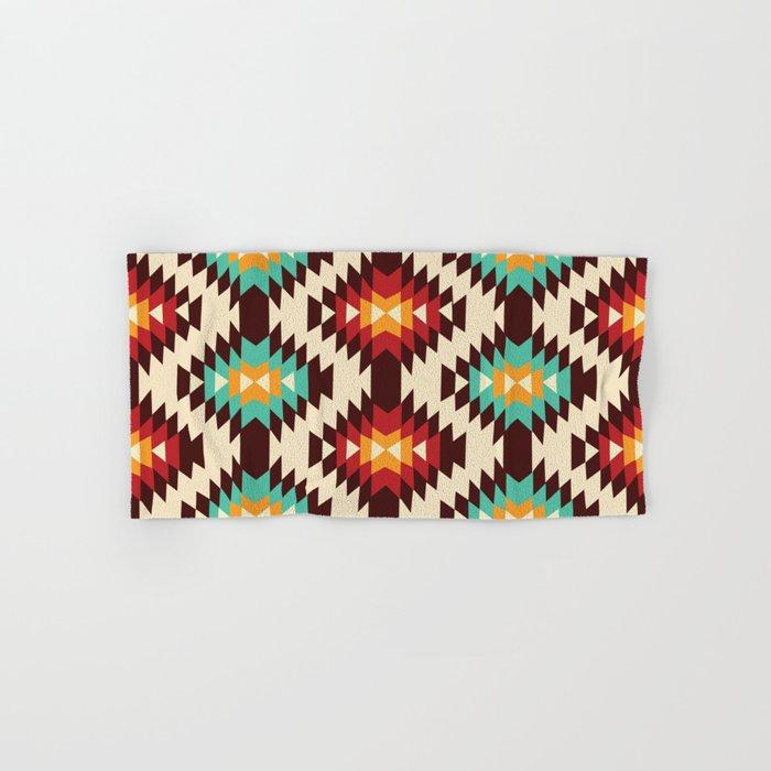 American Native Pattern No. 182 Hand & Bath Towel
