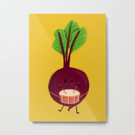 Beet's drum beat Metal Print
