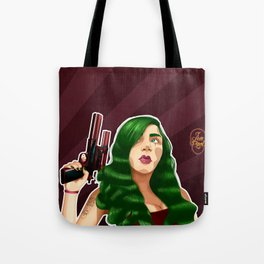Captain Lupe Tote Bag