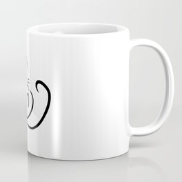 Kitten outline Coffee Mug