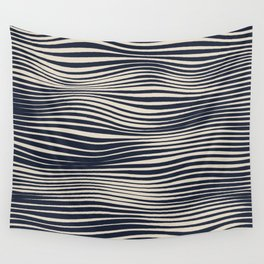 Waving Lines Wall Tapestry