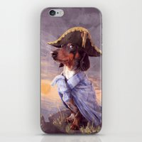 napoleon iPhone & iPod Skins featuring Little Napoleon by Tim Probert
