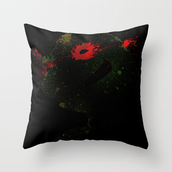 Raph Throw Pillow