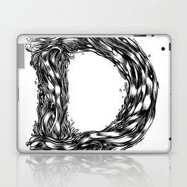 The Illustrated D Laptop & iPad Skin