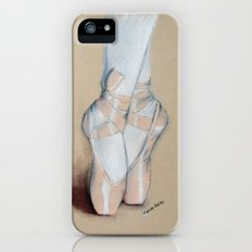 Ballet Pointe Shoes. Slim Case iPhone (5, 5s)