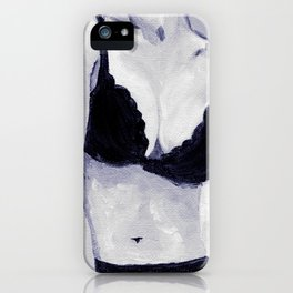 Getting Ready - Figurative Oil Painting iPhone Case
