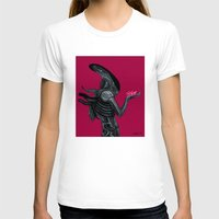 xenomorph T-shirts featuring Xenomorph by Sudjino