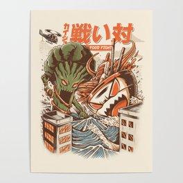 Kaiju Food Fight Poster