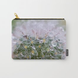 Dew Covered Cactus Carry-All Pouch