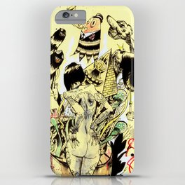 SEARCH & DESTROY. iPhone Case