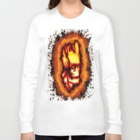 groot Long Sleeve T-shirts featuring Groot  by grapeloverarts