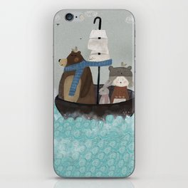 paddington pond iPhone Skin
