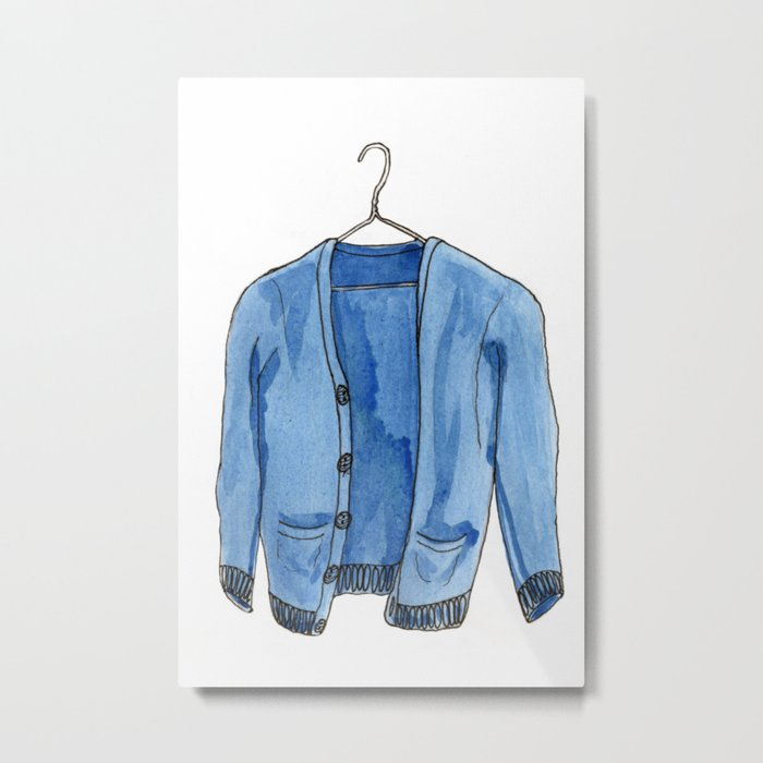 Sweater Metal Print