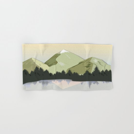Night Mountains No. 20 Hand & Bath Towel