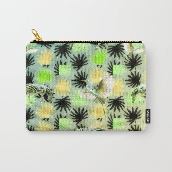 Savannah Pattern Carry-All Pouch