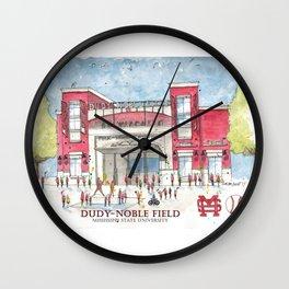 Dudy-Noble Field 2018 Wall Clock