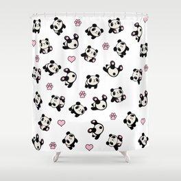 Panda pattern Shower Curtain