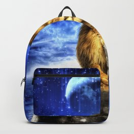 Grumpy Lion Backpack
