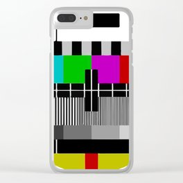 TV PTV Circle Clear iPhone Case