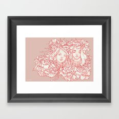 Daughters Framed Art Print