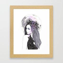 Looking For The Stars Framed Art Print