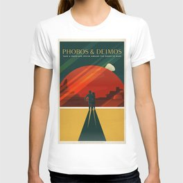 SpaceX Mars tourism poster T-shirt